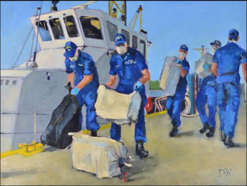 Coast Guard Offloads Concaine