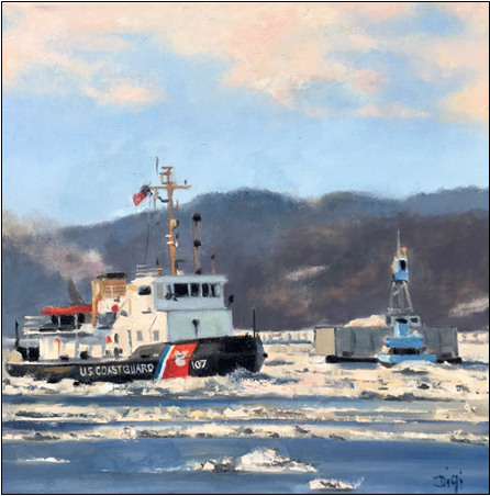 Cutter Penobscot Bay Assists