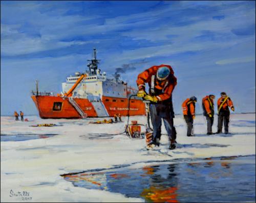 Driller On The Chukchi Sea