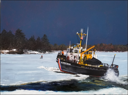 Icebreaking On The Kennevec River