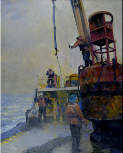 Releasing The Crane