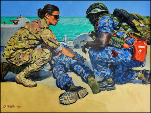 Working With The Gambian Navy